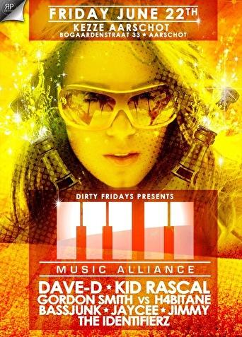 Dirty Fridays presents (flyer)