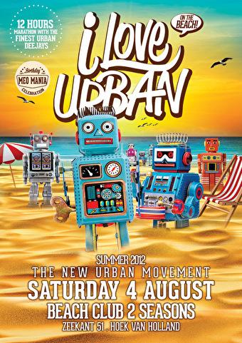 I Love Urban (flyer)