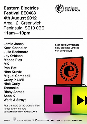 Eastern Electrics Festival (flyer)