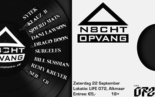 N8chtopvang (flyer)