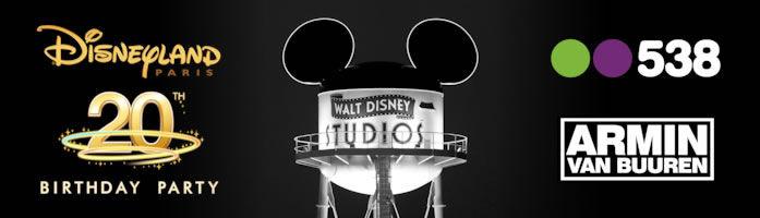 Disney's 20th Birthday Party (flyer)