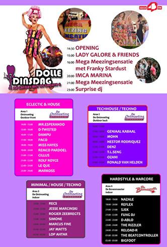 Dolle Dinsdag 2012 (flyer)