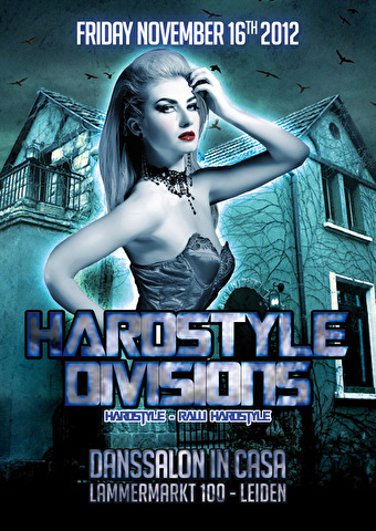 Hardstyle Divisions (flyer)