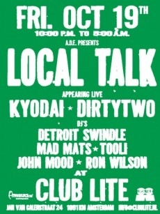 Local Talk Records (flyer)