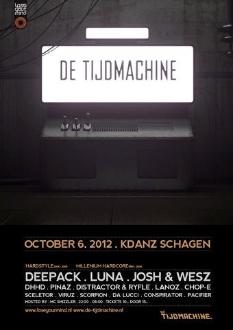 De Tijdmachine (flyer)