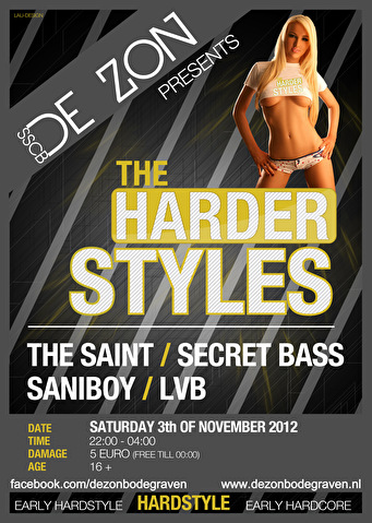 The Harder Styles (flyer)