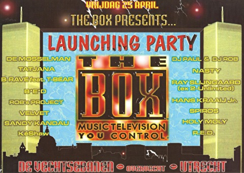 flyer The Box