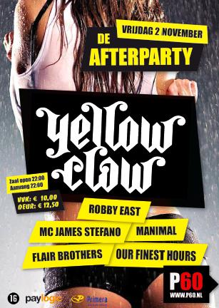 De Afterparty (flyer)