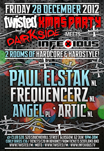 Twisted Xmas Party (flyer)