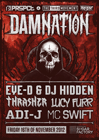 Damnation (flyer)