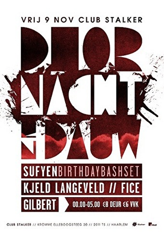 Door Nacht & Dauw (flyer)