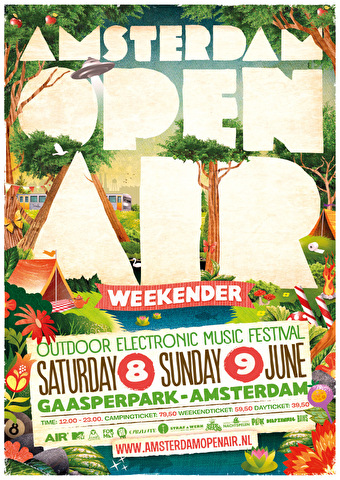 Amsterdam Open Air (flyer)