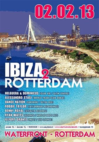 Ibiza 2 Rotterdam (flyer)