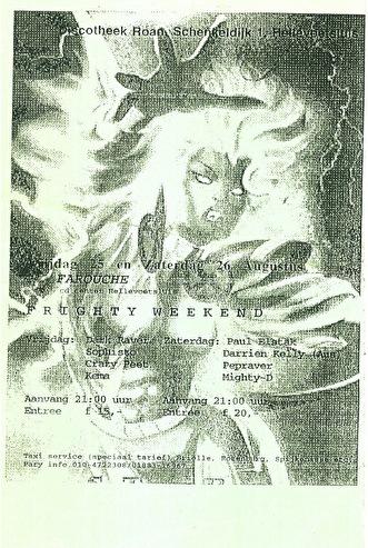 Frighty Weekend (flyer)