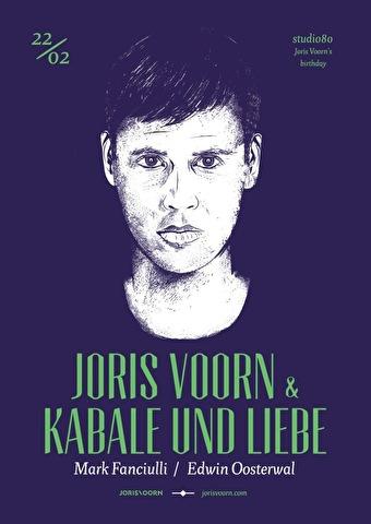 flyer Joris Voorn's Birthday