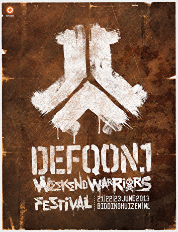 Defqon.1 festival (flyer)