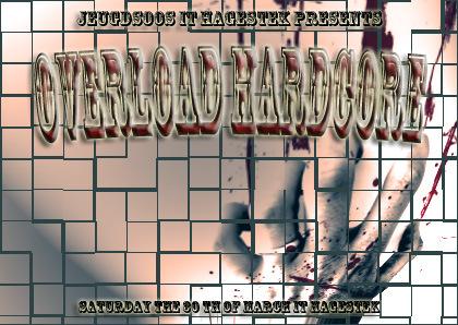 Overload Hardcore (flyer)