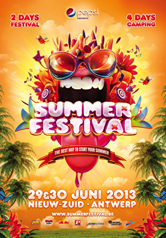 flyer Summerfestival