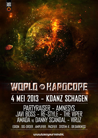 World of Hardcore (flyer)
