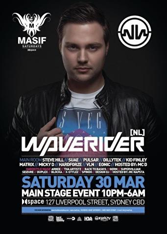 Masif Saturdays (flyer)