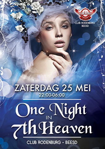 One Night in 7th Heaven (flyer)