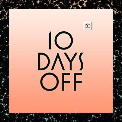 flyer 10 Days off