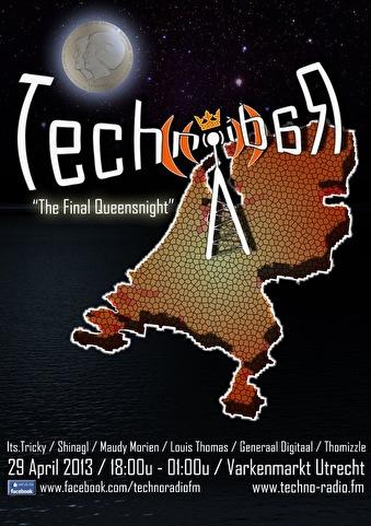 flyer Techno Radio