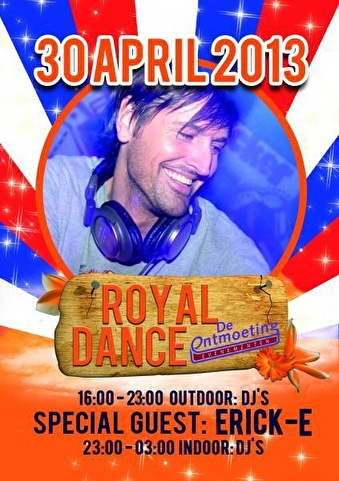 flyer Royal Dance Party Ontmoeting