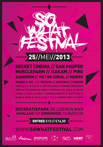 So What Festival (flyer)