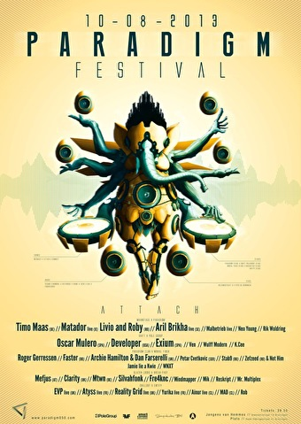 Paradigm Festival (flyer)