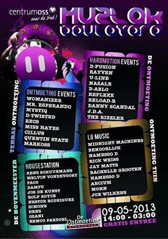 MuziekBoulevard (flyer)