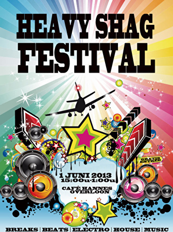 flyer Heavy Shag Festival