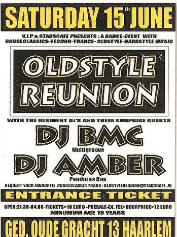 Oldstyle Reunion (flyer)
