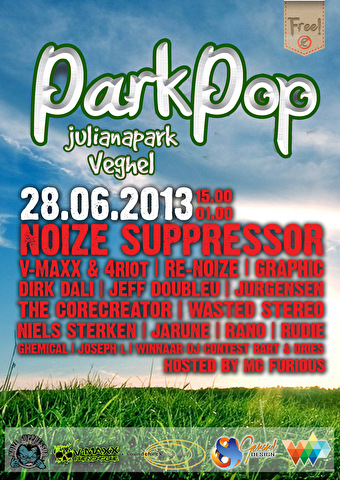 Parkpop Veghel (flyer)