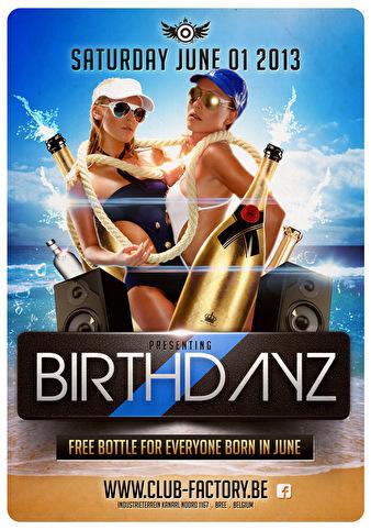 BirthdayZ (flyer)