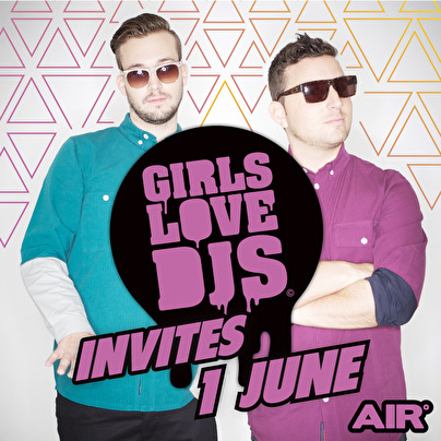 GirlsLoveDJs invites (flyer)