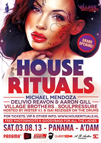 House Rituals (flyer)