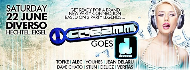 Creamm Goes Diverso (flyer)