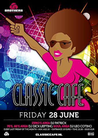 Classic Café (flyer)