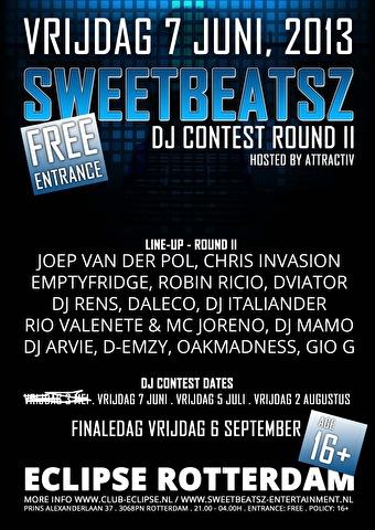 SweetbeatsZ DJ Contest 2013 (flyer)