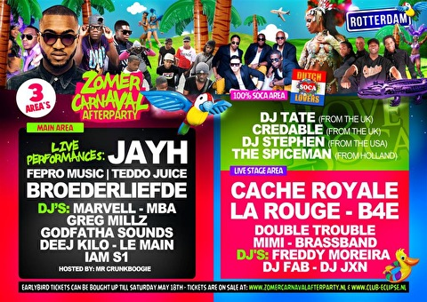 Zomercarnaval Afterparty (flyer)