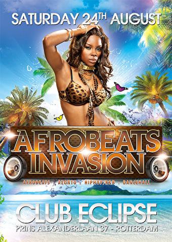 Afrobeats Invasion (flyer)