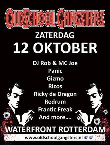 Oldschool Gangsters (flyer)