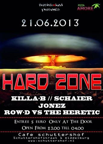 Hard Zone (flyer)