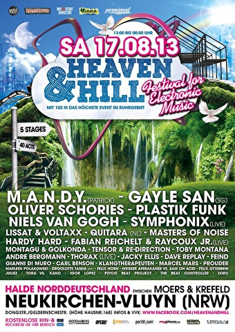 Heaven & Hill Festival (flyer)