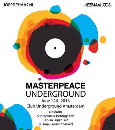 Masterpeace Underground (flyer)