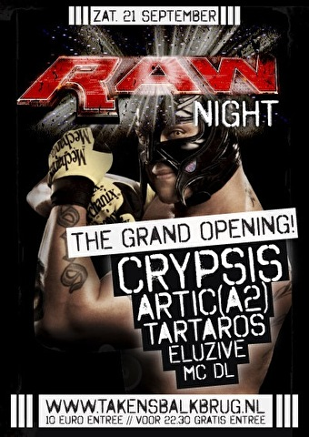Raw Night (flyer)