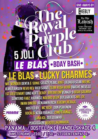 flyer The Royal Purple
