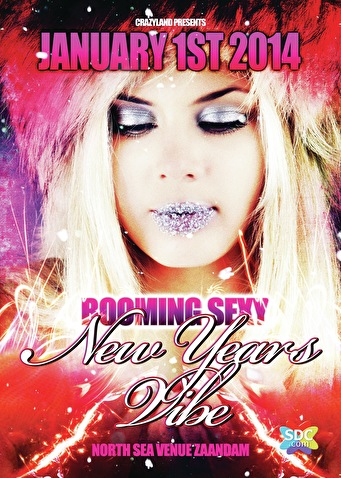 flyer Booming Sexy New Year Vibe