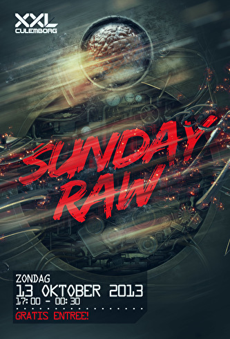 Sunday RAW (flyer)